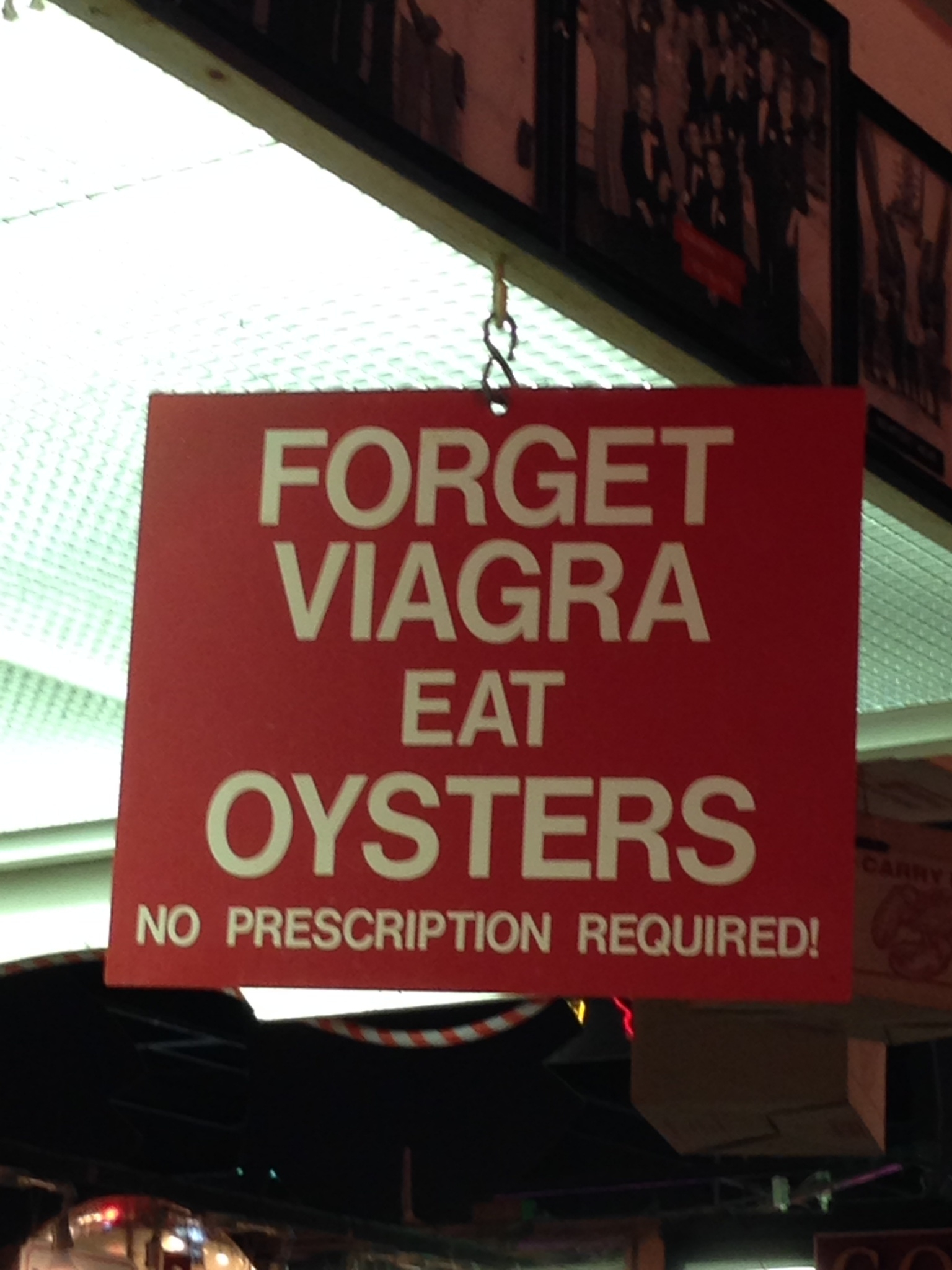 Mixing Oysters And Viagra